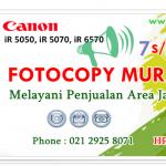 Kode Error Canon iR 5000 dan Solusinya