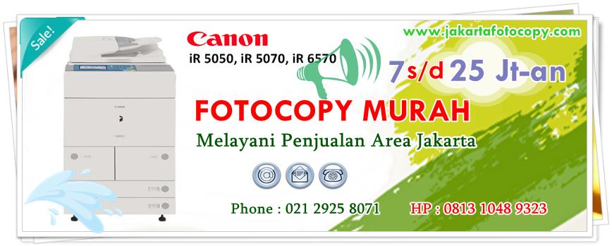 Jual Mesin Fotocopy Jakarta